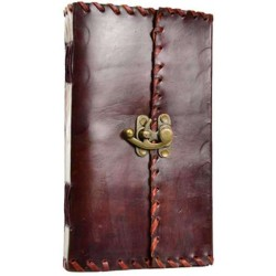 1842 Poetry Leather Blank Book - 9 Inches Tree of Life Journeys Reconnect with Yourself - Meditation, Law of Attraction, Spiritual Products