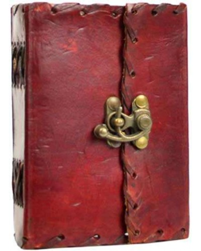 1842 Poetry Leather Blank Small Book - 5 Inches at Tree of Life Journeys, Reconnect with Yourself - Meditation, Law of Attraction, Spiritual Products