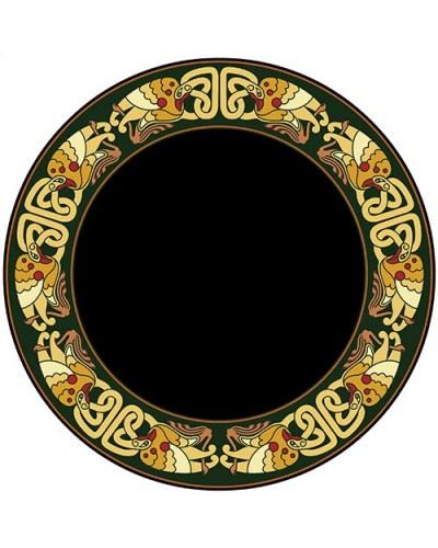 Celtic Birds Acrylic Scrying Mirror at Tree of Life Journeys, Reconnect with Yourself - Meditation, Law of Attraction, Spiritual Products