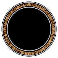 Celtic Knot Acrylic Scrying Mirror