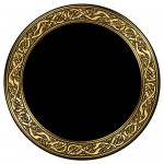 Celtic Snakes Acrylic Scrying Mirror at Tree of Life Journeys, Reconnect with Yourself - Meditation, Law of Attraction, Spiritual Products
