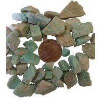 Amazonite Raw Stone for Communications and Luck