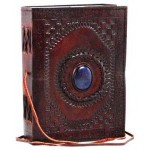 Gods Eye 7 Inch Leather Journal at Tree of Life Journeys, Reconnect with Yourself - Meditation, Law of Attraction, Spiritual Products