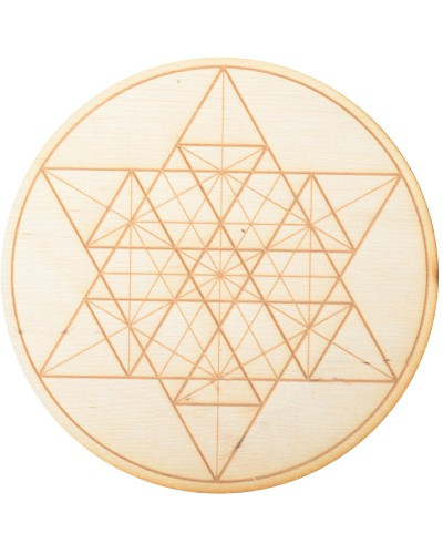 Geometric Star Crystal Grid in 3 Sizes at Tree of Life Journeys, Reconnect with Yourself - Meditation, Law of Attraction, Spiritual Products