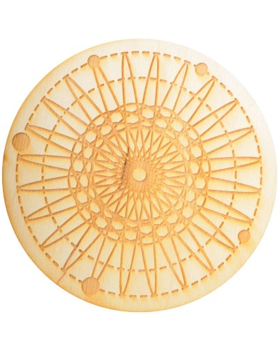 Flower Crystal Grid in 3 Sizes at Tree of Life Journeys, Reconnect with Yourself - Meditation, Law of Attraction, Spiritual Products