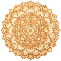 Lotus Mandala Crystal Grid for Spiritual Growth