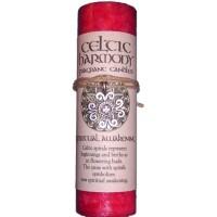 Celtic Harmony Spiritual Awakening Candle with Pendant