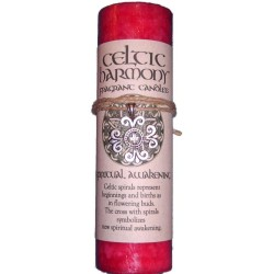 Celtic Harmony Spiritual Awakening Candle with Pendant Tree of Life Journeys Reconnect with Yourself - Meditation, Law of Attraction, Spiritual Products