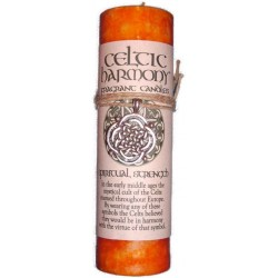 Celtic Harmony Spiritual Strength Candle with Pendant Tree of Life Journeys Reconnect with Yourself - Meditation, Law of Attraction, Spiritual Products