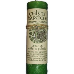 Celtic Harmony Male Female Unity Candle with Pendant Tree of Life Journeys Reconnect with Yourself - Meditation, Law of Attraction, Spiritual Products