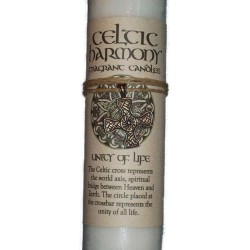 Celtic Harmony Unity of Life Candle with Pendant Tree of Life Journeys Reconnect with Yourself - Meditation, Law of Attraction, Spiritual Products