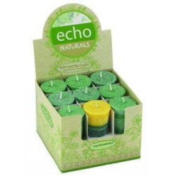 Echo Natural Unscented Votive Candles Tree of Life Journeys Reconnect with Yourself - Meditation, Law of Attraction, Spiritual Products