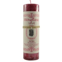 Geba Love Viking Rune Amulet Candle