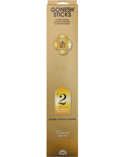 Gonesh Classic Collection - No 2 Incense Sticks at Tree of Life Journeys, Reconnect with Yourself - Meditation, Law of Attraction, Spiritual Products