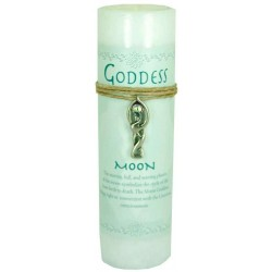 Goddess Moon Spell Candle with Amulet Pendant Tree of Life Journeys Reconnect with Yourself - Meditation, Law of Attraction, Spiritual Products