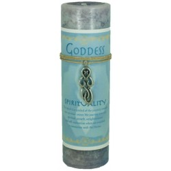 Goddess Spirit Spell Candle with Amulet Pendant