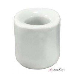 White Mini Taper Candle Holder