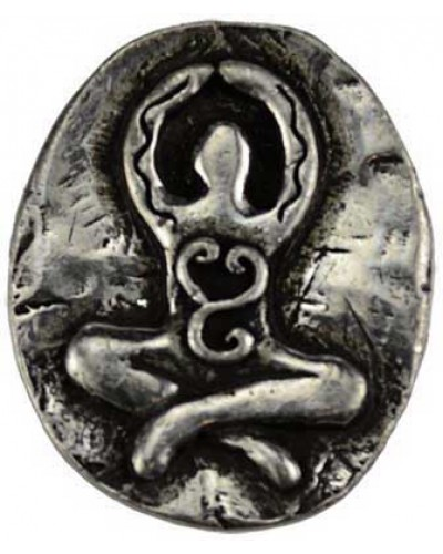 Goddess Pewter Pocket Charm at Tree of Life Journeys, Reconnect with Yourself - Meditation, Law of Attraction, Spiritual Products