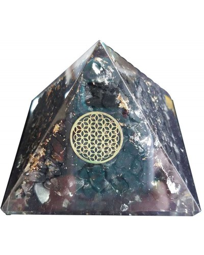 Shungite Flower of Life Orgone Pyramid at Tree of Life Journeys, Reconnect with Yourself - Meditation, Law of Attraction, Spiritual Products