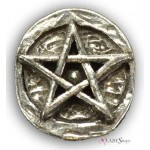 Pentagram Pewter Pocket Charm at Tree of Life Journeys, Reconnect with Yourself - Meditation, Law of Attraction, Spiritual Products