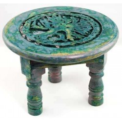 Tree of Life Round Altar Table Tree of Life Journeys Reconnect with Yourself - Meditation, Law of Attraction, Spiritual Products
