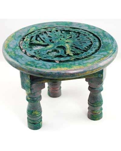 Tree of Life Round Altar Table at Tree of Life Journeys, Reconnect with Yourself - Meditation, Law of Attraction, Spiritual Products