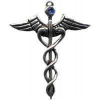 Caduceus Amulet for Healing