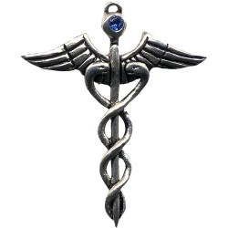 Caduceus Amulet for Healing Tree of Life Journeys Reconnect with Yourself - Meditation, Law of Attraction, Spiritual Products