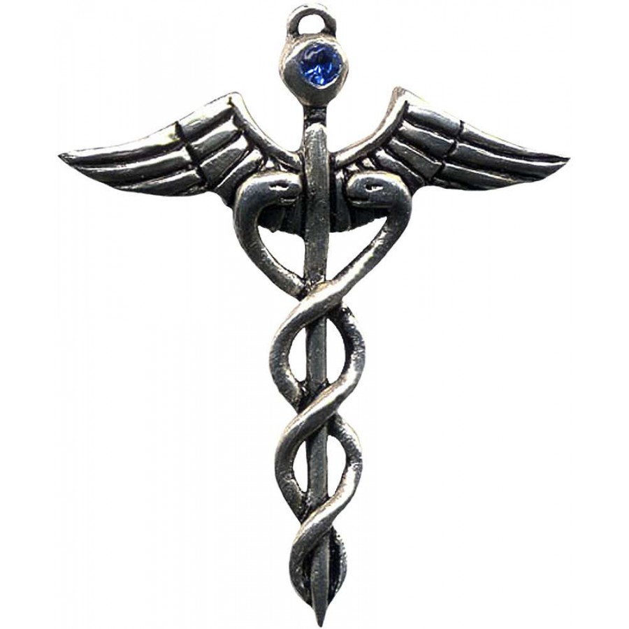 Caduceus amulet for healing medical symbol caduceus amulet for healing at tree of life journeys reconnect with yourself meditation biocorpaavc