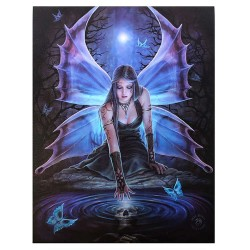 Immortal Flight Canvas Art Print