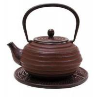 Lantern Design Cast Iron Tea Pot
