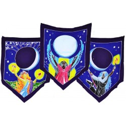 Triple Moon Goddess Prayer Flags Tree of Life Journeys Reconnect with Yourself - Meditation, Law of Attraction, Spiritual Products