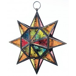 Star Lantern Jewel Tone